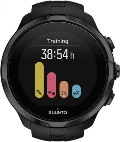 c880cddd82c Suunto Spartan Sport Wrist HR All Black - Parametry