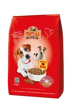 Propesko Karma dla psów średnich ras, kurczak 8kg