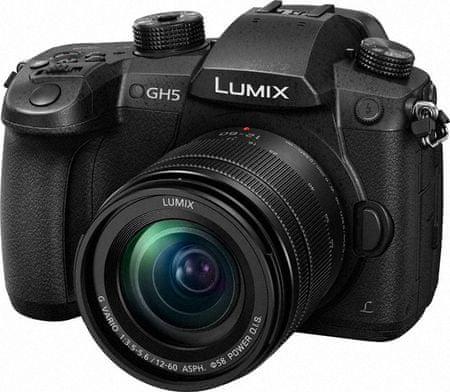 Panasonic digitalni brezzrcalni fotoaparat Lumix DC-GH5 + 12-60