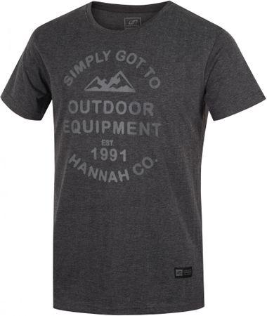 Hannah moška majica Elmwood, siva, S