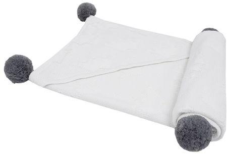 """EKO Bambusová deka """"Crown"""" - White"""