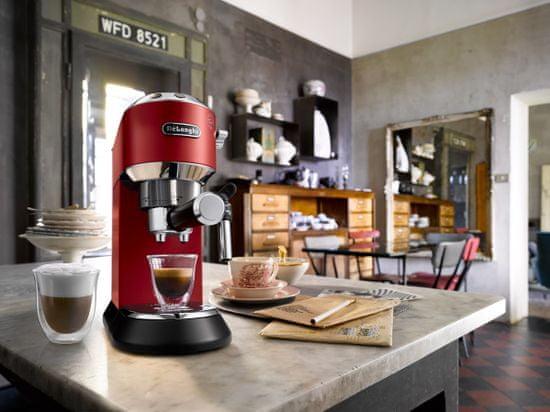 De'Longhi pákový kávovar Dedica Style EC 685 R