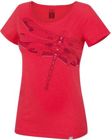 Hannah ženska majica Kaira, rdeča, 36