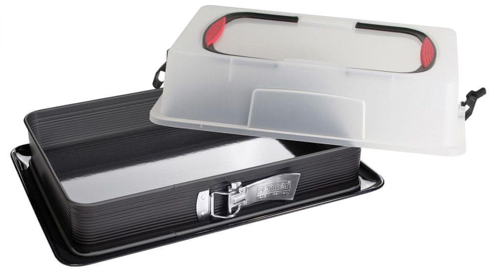 Zenker Plech Deluxe 38x25x7cm s přenosným víkem