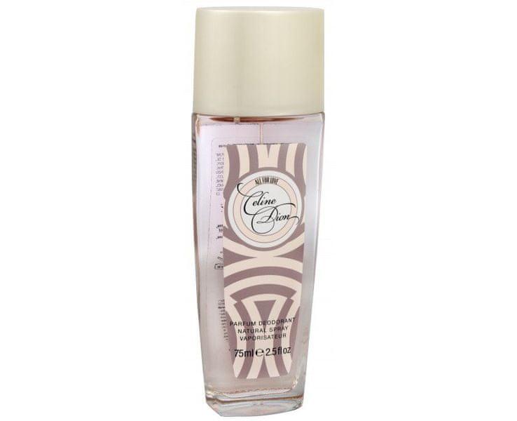 Celine Dion All For Love - deodorant s rozprašovačem 75 ml