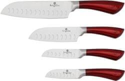 Berlingerhaus Sada nožů santoku 4 ks Velvet Chef