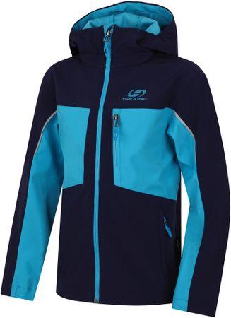Hannah otroška jakna Bendy Lite JR, modra, 128