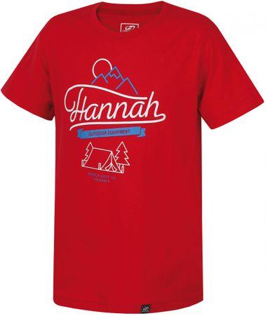 Hannah otroška majica Dandy JR, rdeča, 140