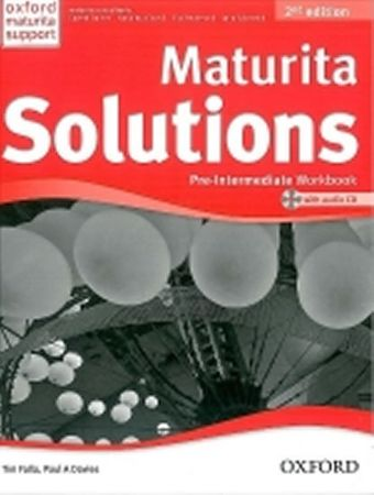 Falla Tim, Davies Paul A.: Maturita Solutions Pre-Intermediate Workbook 2nd Edition with audio CD pa