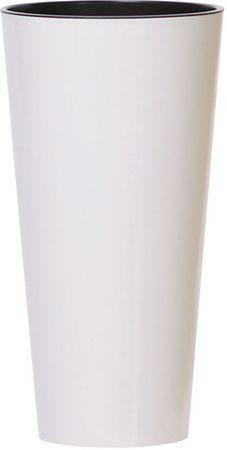 J.A.D. TOOLS donica TUBUS SLIM, 25 cm, biała