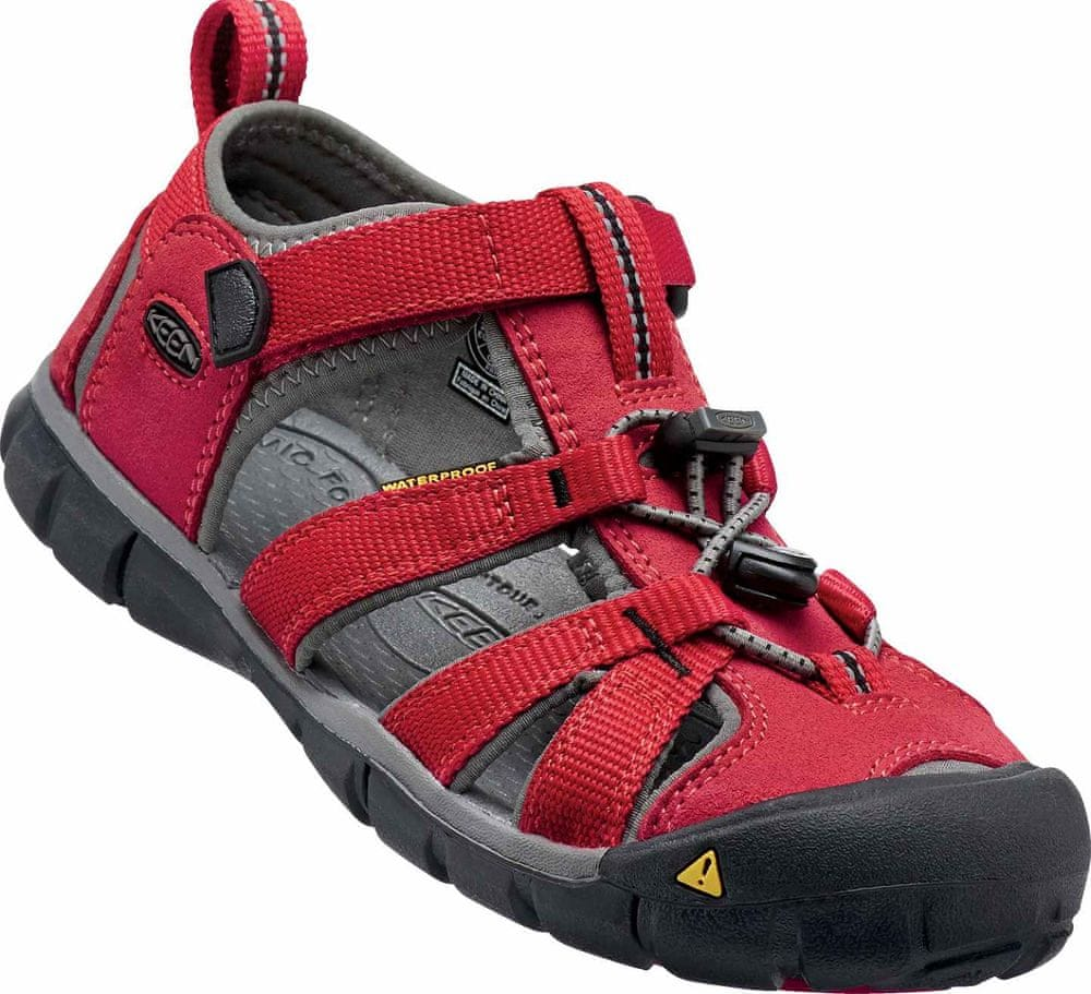 KEEN Seacamp II Cnx Jr Racing Red/Gargoyle US 5 (37 EU)