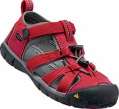 KEEN Seacamp II Cnx Jr Racing Red/Gargoyle