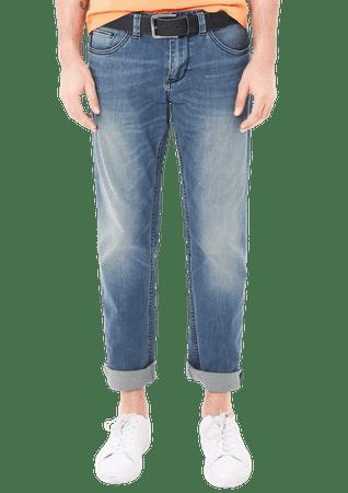s.Oliver jeansy męskie 33/34 niebieski