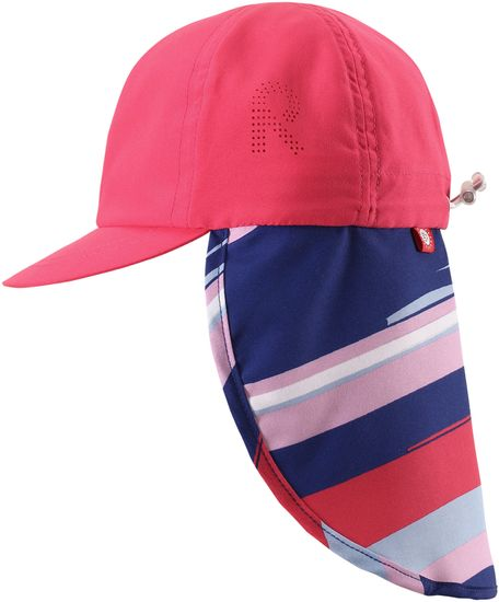 Reima czapka z daszkiem Alytos raspeberry red