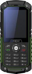 Concorde Raptor P70 Mobiltelefon, Fekete/Zöld
