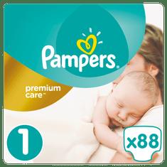 Pampers Pieluchy Premium Care 1 Newborn (88 szt.)