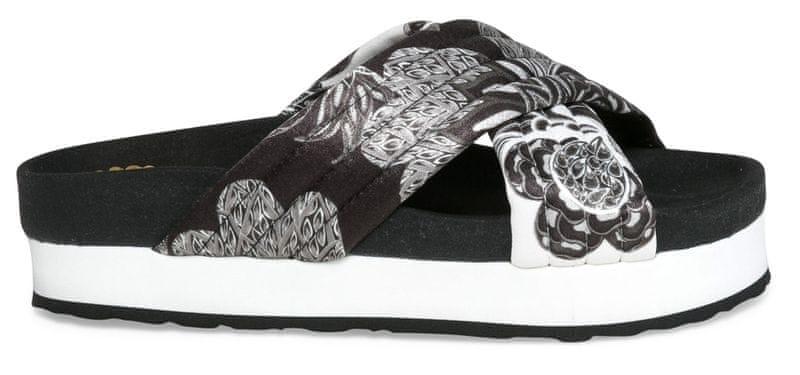 Desigual dámské pantofle Okinawa Xupi 41 černá
