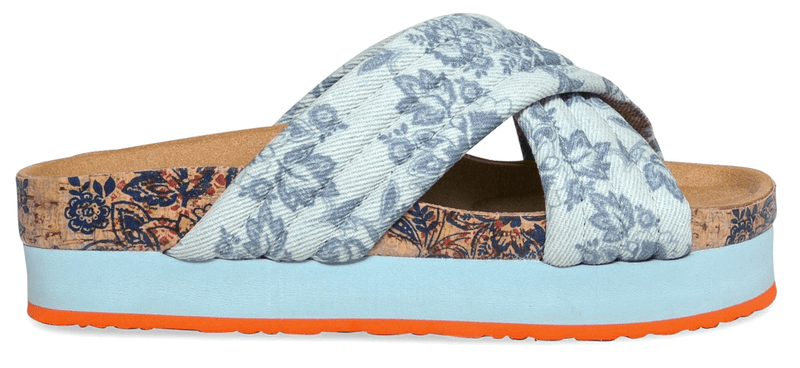 Desigual dámské pantofle Okinawa 41 modrá