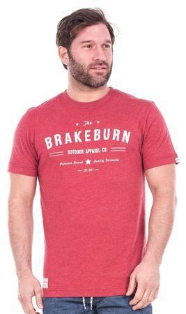 Brakeburn moška majica L rdeča