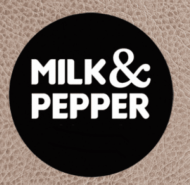 logo Milk and Pepper