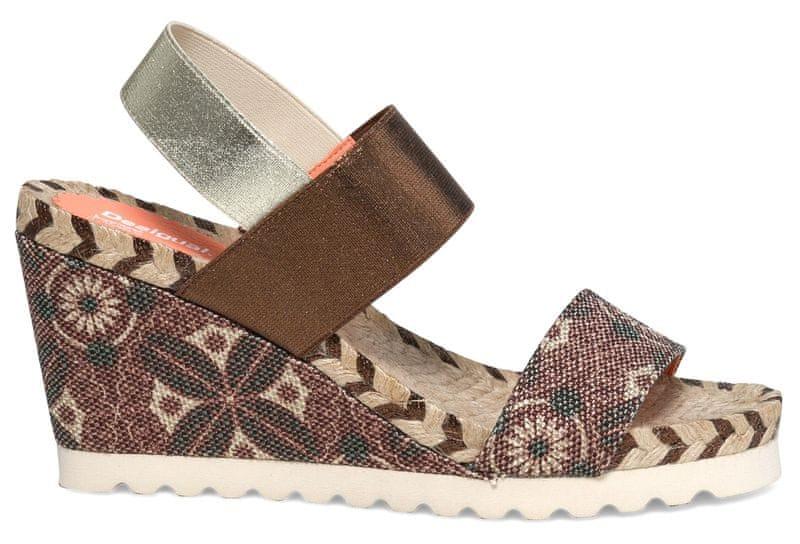 Desigual dámské sandály Ibiza 41 hnědá
