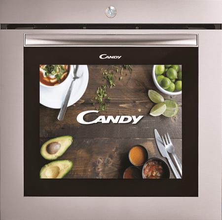 CANDY FCWTC001X Érintőkijelzős Beépíthető sütő, 78 l, A