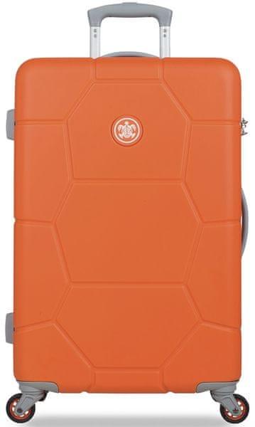SuitSuit Cestovní kufr Caretta M Popsicle Orange