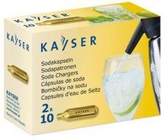 Kayser bombice za sodo za enkratno uporabo, 20 kos