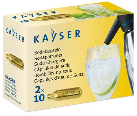Kayser Jednorazowe wkłady do syfonu, 20 szt.