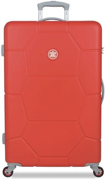 SuitSuit Cestovní kufr Caretta L Fiery Red
