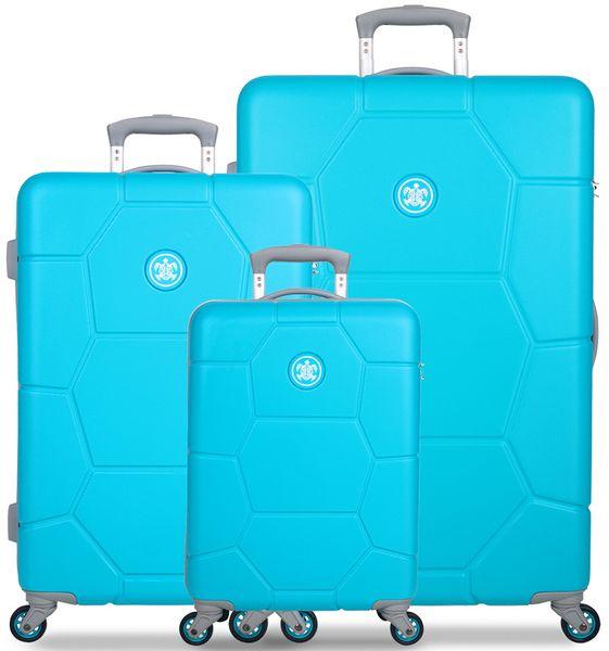 SuitSuit Sada cestovních kufrů Caretta Ocean Blue
