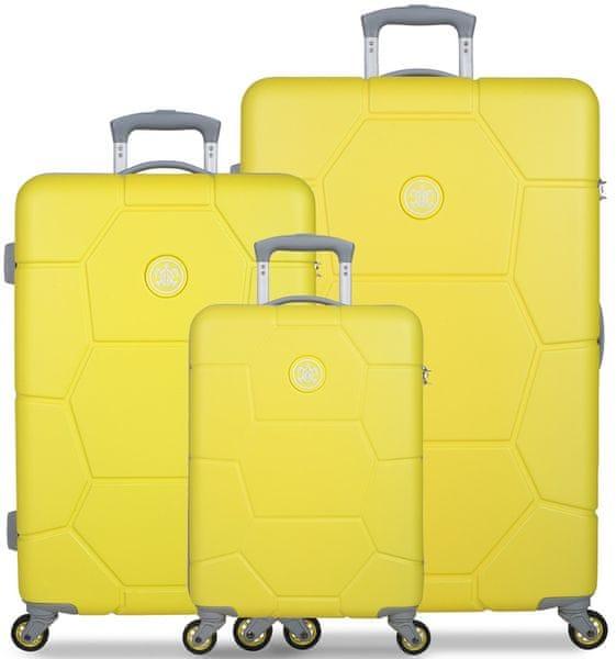 SuitSuit Sada cestovních kufrů Caretta Blazing Yellow