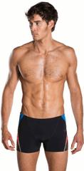 Speedo moške kopalke Fit Splice Aquashort, črne