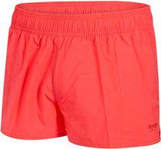 Speedo ženske kopalne hlače Solid Leisure 10, rdeče