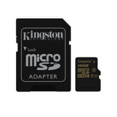 Kingston memorijska kartica microSDHC 16GB Class 10 UHS-I(SDCG/16GB)