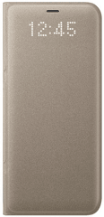Samsung Smartflip kryt Led View (Samsung Galaxy S8), zlatá