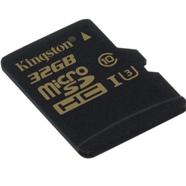 Kingston Micro SDHC 32GB UHS-I U3 (SDCG/32GBSP)