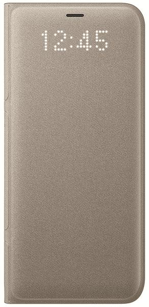 Samsung Smartflip kryt Led View (Samsung Galaxy S8 Plus), zlatá
