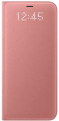 SAMSUNG Smartflip kryt Led View (Samsung Galaxy S8 Plus), růžová