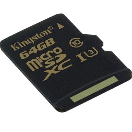 Kingston memorijska kartica microSDHC 64GB Class 10 UHS-I(SDCG/64GBSP)