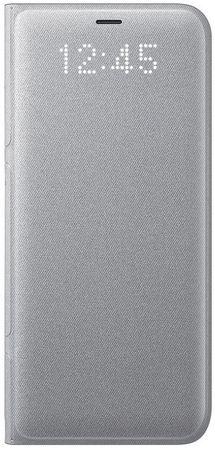 Samsung etui Smartflip Led View dla Galaxy S8 Plus, srebrny