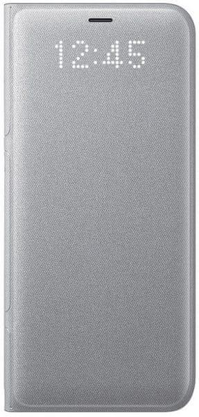Samsung Smartflip kryt Led View (Samsung Galaxy S8 Plus), stříbrná