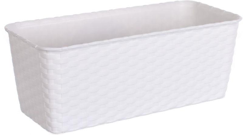 Stefanplast Truhlík samozavlažovací 30 cm, bílý