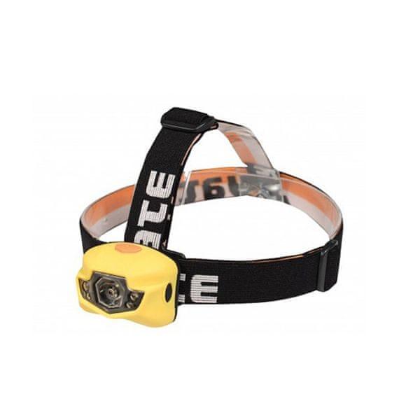 Yate Čelovka Panter 3W CREE + 2 LED - žlutá