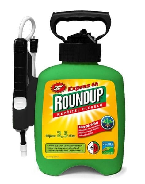 Roundup Expres 6h 2,5 l PUMP & GO