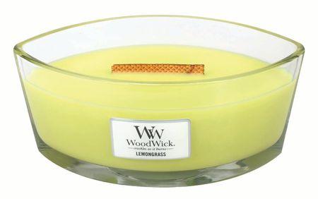 Woodwick sveča Elipse Lemongrass (76114)