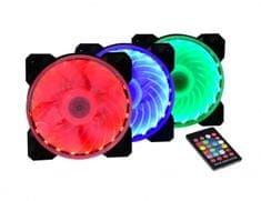 Spire set ventilatorjev X2 Magic Lantern, 120mm, LED (X2-12025S1L6-RGB-LED)