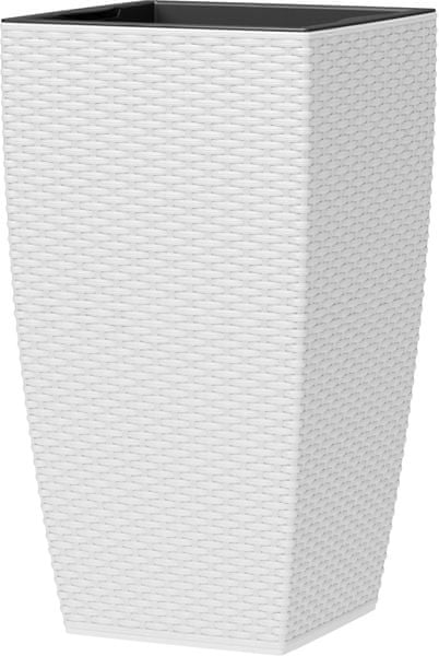 Emsa Květináč CASA MESH 30x58 cm, bílá