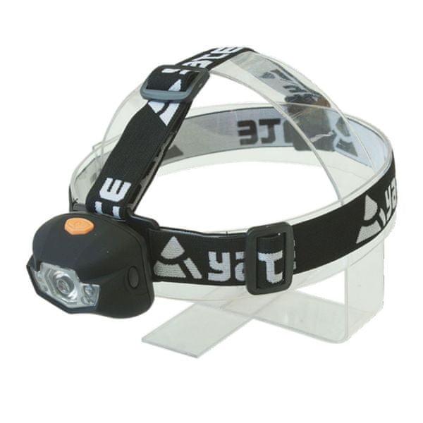 Yate Čelovka Panter 3W CREE + 2 LED - černá
