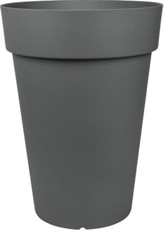 Emsa Kvetináč klasický CITY 40x53 cm,tmavosivá